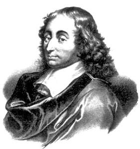 Blaise Pascal, 1623 - 1662