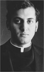 Don Smarto as a seminarian.