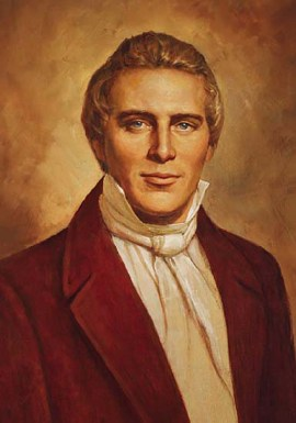 Joseph Smith, founder of The Church of Jesus Christ of Latter-day Saints