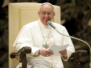 Pope-laughing